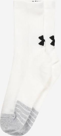 UNDER ARMOUR Sportsokken in de kleur Lichtgrijs / Zwart / Wit, Productweergave