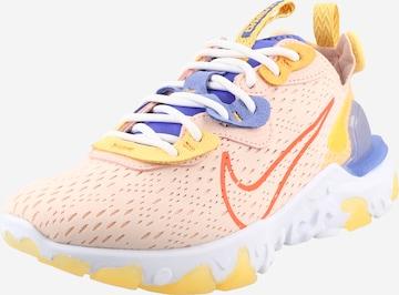 Nike Sportswear Σνίκερ χαμηλό 'React Vision' σε ροζ