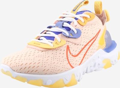 Nike Sportswear Sneakers 'React Vision' in Blue / Dark yellow / Coral, Item view