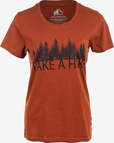Whistler Funktionsshirt in orange / schwarz, Produktansicht