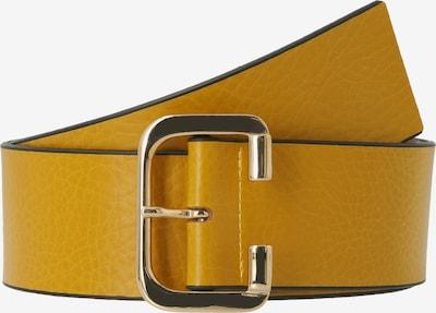 TAMARIS Damengürtel '160082 CHRISTINE' in gelb / schwarz, Produktansicht