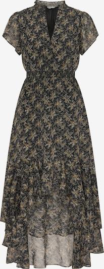 DreiMaster Vintage Kleid in gold / schwarz / silber, Produktansicht