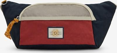 KIPLING Taška cez rameno 'Yura' - krémová / tmelová / tmavomodrá / zlatá žltá / pastelovo červená, Produkt