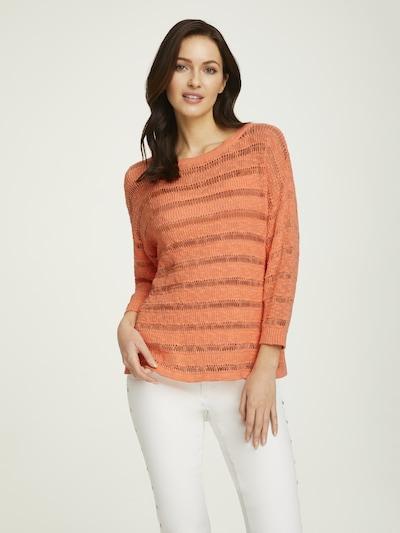 heine Pullover in mandarine, Modelansicht