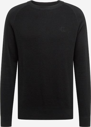 Calvin Klein Jeans Sweter w kolorze czarnym: Widok z przodu