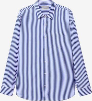 MANGO MAN Hemd 'Nantes' in Blau