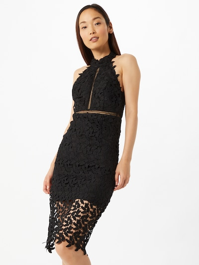 Bardot Cocktailkleid 'Gemma' in schwarz, Modelansicht