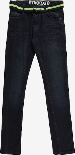 STACCATO Džinsi, krāsa - zils džinss / neonzaļš, Preces skats