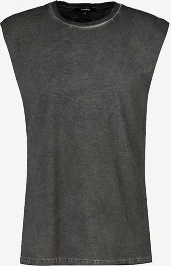 tigha Tričko 'Abstract Tiger Maze' - horčicová / čadičová / pastelovo červená / čierna, Produkt