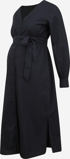 Rochie tip bluză 'XINA' MAMALICIOUS pe albastru noapte, Vizualizare produs