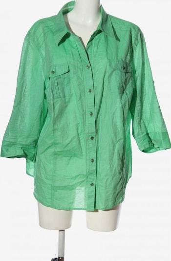 MONA Hemd-Bluse in 5XL in grün, Produktansicht