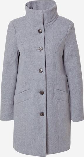 VERO MODA Between-Seasons Coat 'FELICIA' in mottled grey: Frontal view