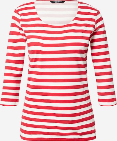 ZABAIONE Shirt 'Solea' in grenadine / weiß, Produktansicht