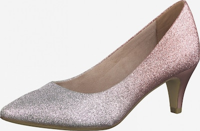 TAMARIS Pumps in rosa / silber, Produktansicht