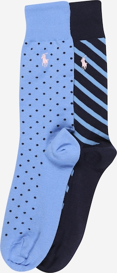 POLO RALPH LAUREN Chaussettes en bleu, Vue avec produit