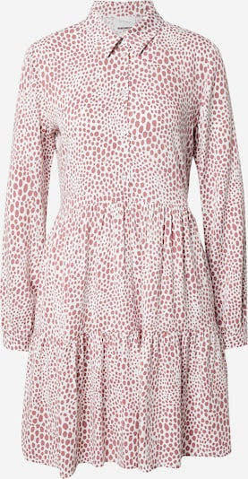VILA Kleid in dunkelpink / weiß, Produktansicht