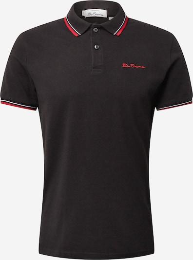Tricou Ben Sherman pe roșu deschis / negru / alb, Vizualizare produs