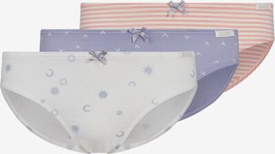 Skiny Slip 'Rio' in elfenbein / pastellblau / rosa, Produktansicht