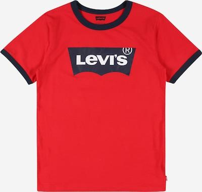 LEVI'S T-Shirt in nachtblau / rot / weiß, Produktansicht