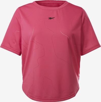 Reebok Sport Functioneel shirt in de kleur Pink / Zwart, Productweergave