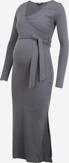 Missguided Maternity Robe en gris foncé, Vue avec produit
