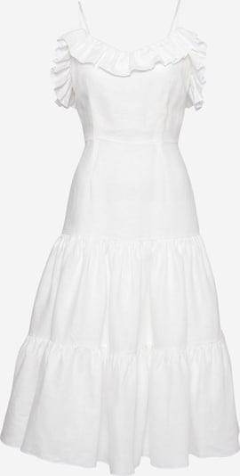 KAN Poletna obleka 'JASMINE' | bela barva, Prikaz izdelka