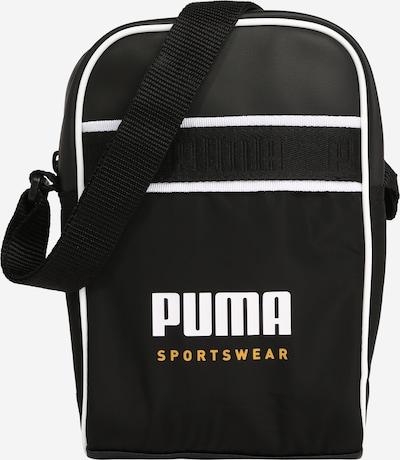 PUMA Shoulder Bag in Ochre / Black / White, Item view