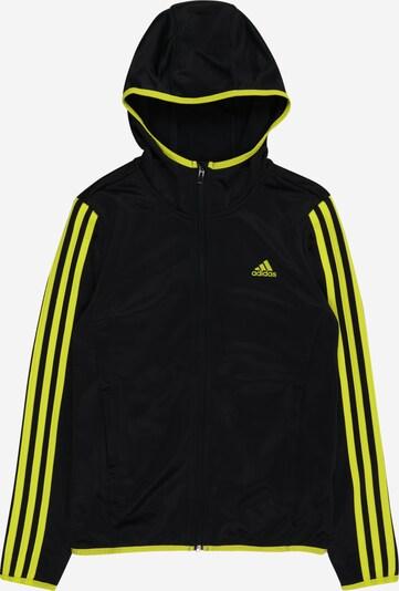 Sportinis džemperis iš ADIDAS PERFORMANCE , spalva - nakties mėlyna / neoninė geltona, Prekių apžvalga