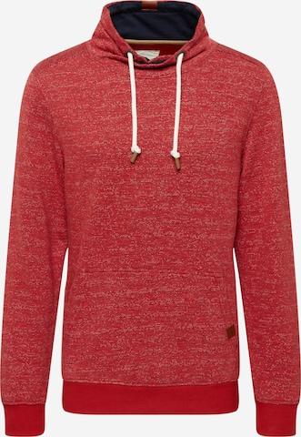 TOM TAILOR Sweatshirt in Rot