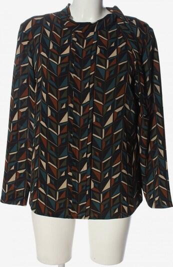 La Fée Maraboutée Langarm-Bluse in XL in blau / braun / schwarz, Produktansicht