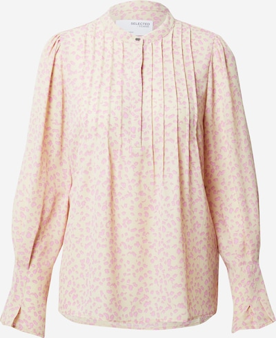 SELECTED FEMME Blouse 'Livia' in de kleur Sand / Pink, Productweergave