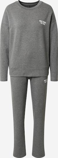 ONLY Pyjama 'ONLCamilla' en gris foncé, Vue avec produit