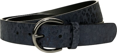 STREET ONE Ledergürtel in dunkelblau, Produktansicht