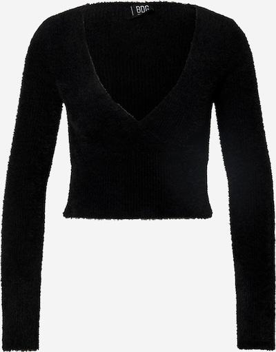 Pulover 'FLUFFY BALLET WRAP' BDG Urban Outfitters pe negru, Vizualizare produs