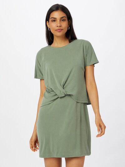 VERO MODA Robe 'GLENNA' en vert pastel, Vue avec modèle