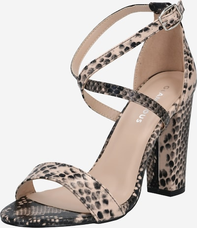 GLAMOROUS Strap sandal in Beige / Brown, Item view