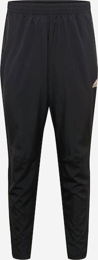 ADIDAS PERFORMANCE Sporthose in gold / schwarz, Produktansicht