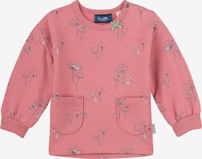 Sanetta Kidswear Sweatshirt in grün / rosa / schwarz, Produktansicht
