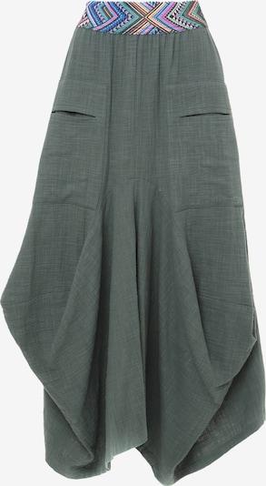 Madam-T Rok 'DANIA' in de kleur Groen, Productweergave