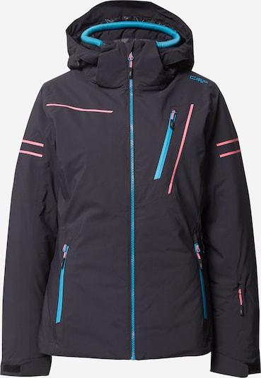 CMP Outdoorová bunda - modrá / antracitová / korálová, Produkt