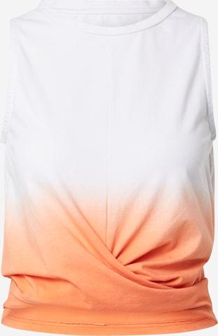 Hey Honey Sports Top in Orange