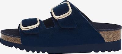 SCHOLL Slippers 'ILARY VELVET' in Blue, Item view