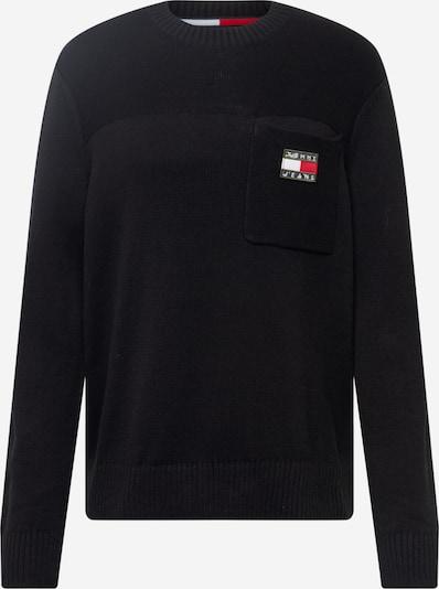 Tommy Jeans Pullover in schwarz, Produktansicht