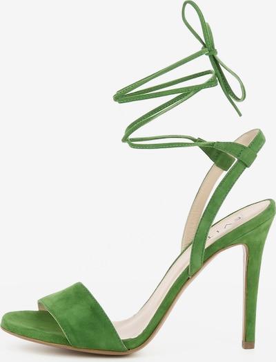 EVITA Damen Sandalette EVA in grün, Produktansicht