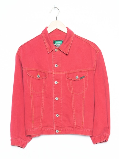 UNITED COLORS OF BENETTON Jeansjacke in XL in rot, Produktansicht