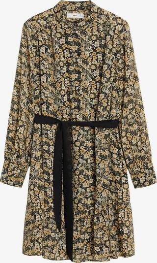 MANGO Robe-chemise en mélange de couleurs, Vue avec produit