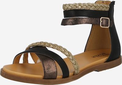 BULLBOXER Sandały w kolorze beżowy / sepia / czarnym, Podgląd produktu