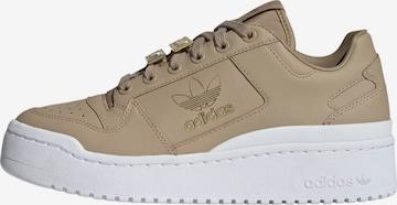 ADIDAS ORIGINALS Rövid szárú edzőcipők 'Forum Bold Shoes' - bézs