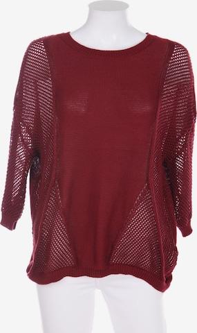 BODYFLIRT Sweater & Cardigan in S-M in Red