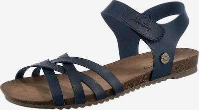 MUSTANG Sandalen in dunkelblau, Produktansicht